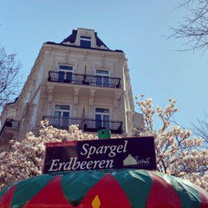 Verkaufserdbeere Eppendorfer Baum
